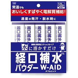 経口補水パウダーダブルエイド(6g×10包)