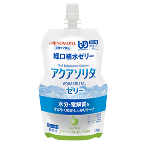 アクアソリタゼリー AP りんご風味(130g)